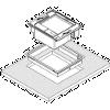 Honeywell Rámeček na zabudování pro Horizon 7600