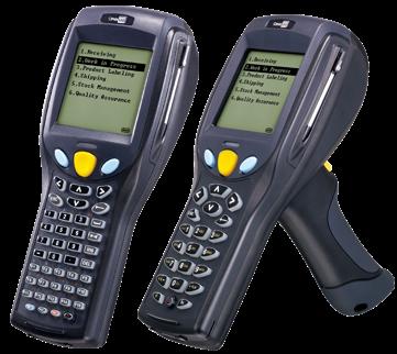 CipherLab CPT-8700 Přenosný terminál, laser, BT, 4MB, 24kl.