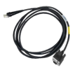 Honeywell Cable HHP 3800/4600 straight RS232, black