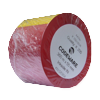 TTR páska 55mm x 360m, červená, vosk-pryskyřice