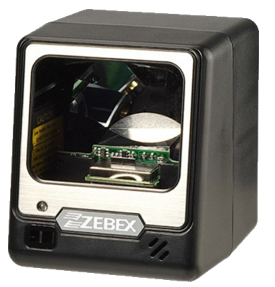 Zebex A-50M+ Omnidirectional Laser Bar Code Reader, USB, black