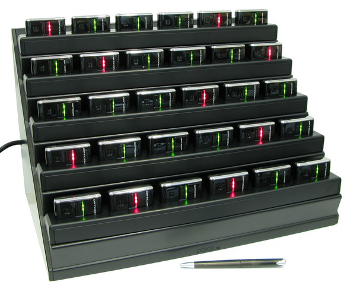 Dokki DMT-30 - 30-bay docking station for OPN-2001 and OPN-2002