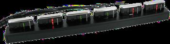 Dokki DMT-6 - 6 slotová dobíjecí a komunikační jednotka pro OPN-2001, 2005 a 2006