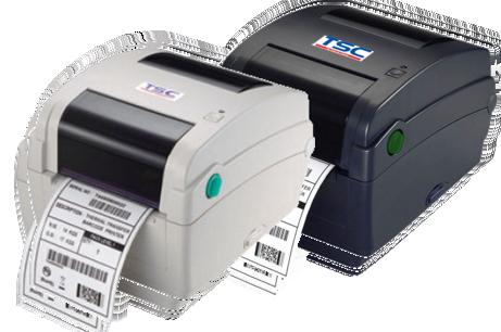 TSC TTP-343C Stolní TT tiskárna čárových kódů, 300 dpi, 4 ips, světlá