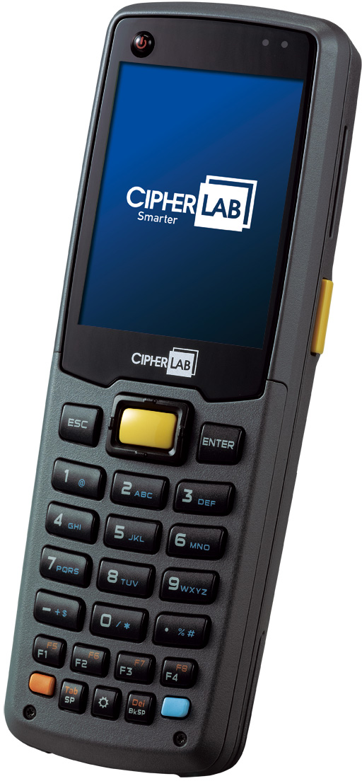 CipherLab CPT-8600 29 key sideview