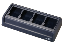4-slot battery charger for CP9200