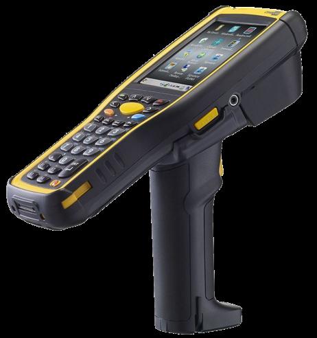 CipherLab CP-9730 Demo: Odolný mobilní počítač, dlouhý 2D, CE, 53 kláves, USB, rukojeť
