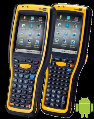 CipherLab CP-9730 Odolný, mobilní, logistický a skladový terminál, WIFI, laser, Android, 30 kláves, USB