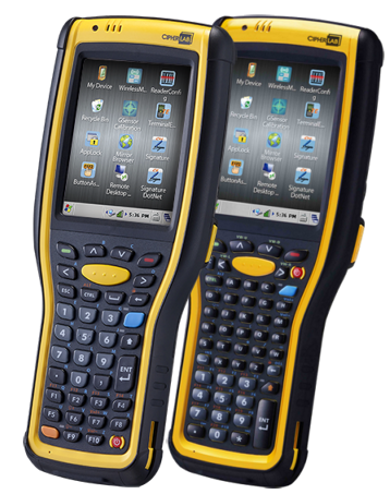 CipherLab CP-9730 Rugged, mobile, logistic and warehouse terminal, WIFI,  Laser, WEH, 53 keys, USB