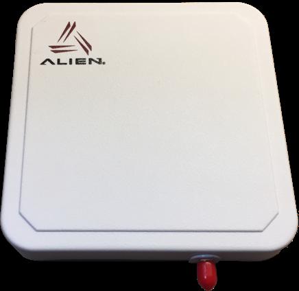 Alien UHF RFID kompaktní anténa: 865-928 MHz, IP67, 6dBic