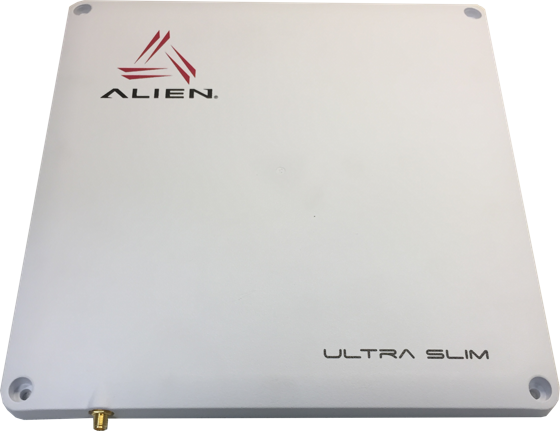 Alien ALR-A1001 Ultra Slim RFID anténa: pravá CP, 865-928 MHz, IP67, 8.5 dBic, VESA