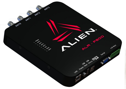Alien ALR-F800 Enterprise RFID reader, UHF 865.7-867.5 MHz, EMEA Kit
