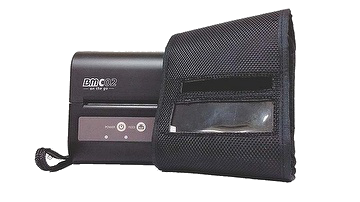 Birch Mobile Receipt Printer with a protective cover