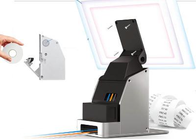 Birch A8II-100SU Body of mini-POS system A8TS with built-in receipt printer