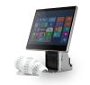 Birch Touch-monitor POS system with builtin receipt printer