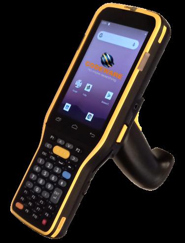 CipherLab RK95: Odolný mobilní logistický a skladový terminál, 2D imager, WIFI, GMS, IP65, 38 kl., rukojeť, kolébka