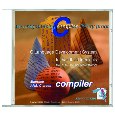 Opticon Compiler C - pro terminály Opticon DCL1531 a OPL 9728