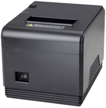 Birch CP-Q3 POS Receipt Printer with autocutter, USB + RS232 + LAN, black