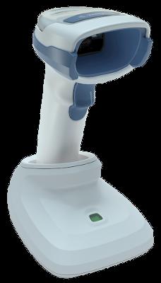 DS2278 - bezdrátový snímač 1D/2D kódů do zdravotnictví, USB KIT, světlý