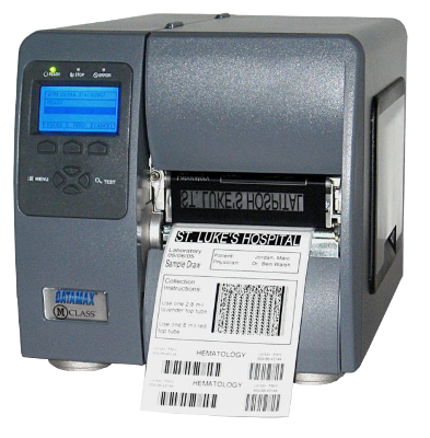 Honeywell Datamax M-4210 Mark II, Tiskárna čárových kódů, 203dpi, LCD displej, TT, DT, USB, Serial, LAN
