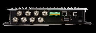 Motorola - FX9500 8-port RFID, konektory