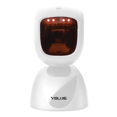 Honeywell YouJie HF600 stolní všesměrová 1D/2D čtečka čárových kódů, USB, bílá