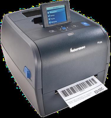 Honeywell Termotransferová tiskárna čárových kódů PC43T -   LCD, RTC, 203DPI