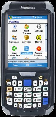 Honeywell Intermec CN70 Průmyslový mobilní počítač, 2D, RFID, Wi-Fi, VGA, GPS, 3G, WEH, numerická kl.