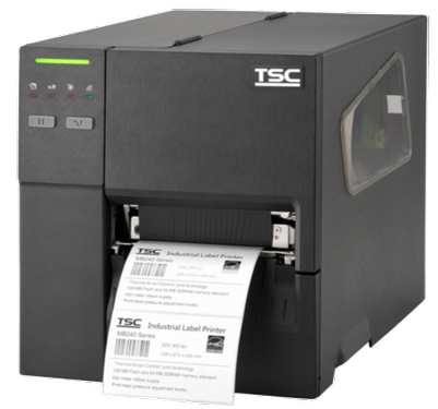 TSC MB340 Metal Industrial Bar Code Printer, 300 dpi, 6 ips