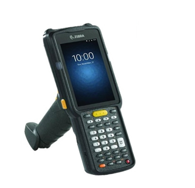 Zebra MC3300 - Mobiler Handheld-Computer, 2D, GUN, Wireless-LAN, BT, 38 Tasten, Android
