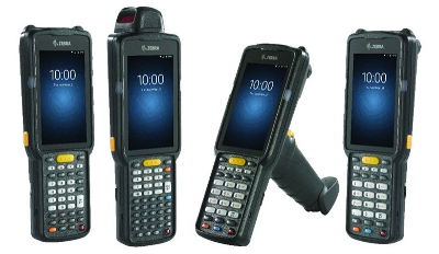 MC3300 - Terminal, 2D, GUN, Wireless-LAN, BT, 38 Tasten, Android