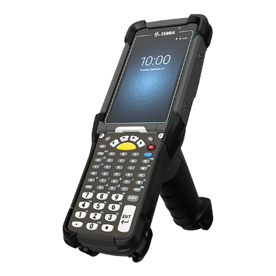 Zebra MC9300 - Mobile Computer, Long Range 2D Imager, GUN, Wifi, BT, 53 keys, Android