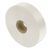 Nylon textile ribbons - printable on both sides, white color
