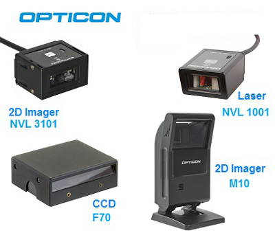 Opticon- Fester Barcode Scanner