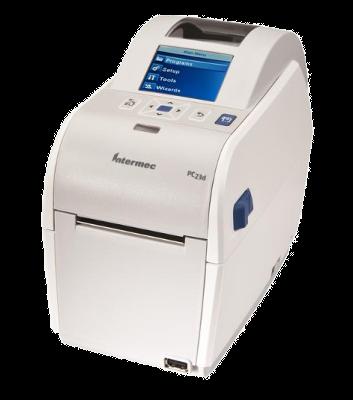 """Honeywell PC23d - stolní DT tiskárna čárových kódů, 203 DPI, USB, 2"""", LCD"""