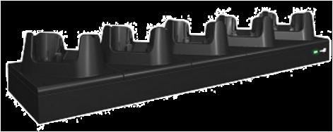 CipherLab RK95: Komunikační a dobíjecí jednotka pro 5 terminálů, USB