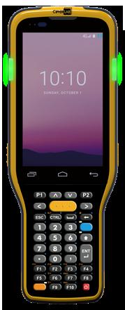 CipherLab RK95: Odolný mobilní logistický a skladový terminál, dlouhý 2D imager, WIFI, GMS, IP65, 52 kl., GMS, USB