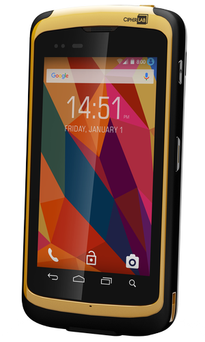 CipherLab RS50 rugged smartphone