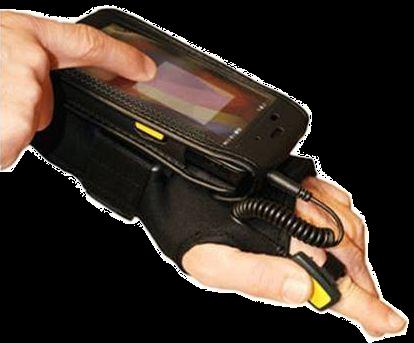 SilverBack Sada Hands-free pro CipherLab RS31 (rukavice s klipem, pouzdro, spouštěcí kabel)