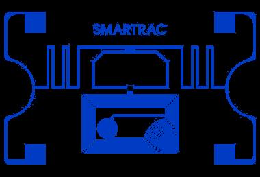 Smartrac Web Dual Frequency RFID tag, UHF & HF, 54mm x 34mm, nepotisknutelný inlay, nalepovací