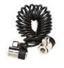 ES ClickSafe - Kroucený kabel se dvěma zámky
