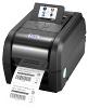 TSC TX200 Stolní TT tiskárna čárových kódů, 203 dpi, LCD, 8 ips, LAN+USB+RS232, RTC, tmavá