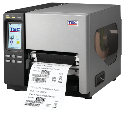 TSC TTP-2610MT Metal Industrial Bar Code Printer, 6 inch wide print