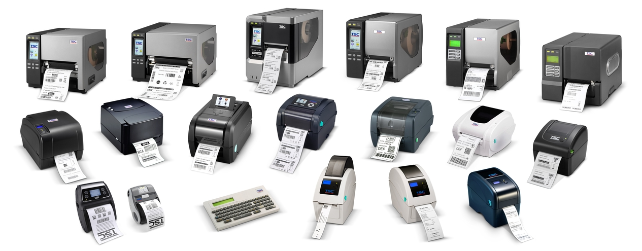 All the TSC bar code printers
