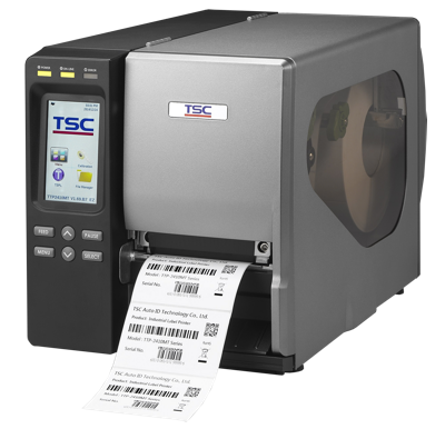 TSC TTP-2410M, the industrial bar code printer