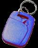 RFID UHF chip, keyring, blue, R/W