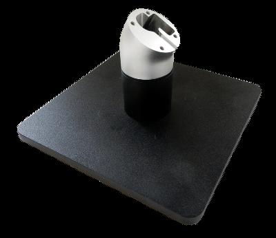 ES Stojánek  pro X-Frame, volně stojící, rovný, černý, otočný vodorovně