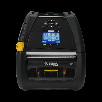 Zebra ZQ630 - mobilní tiskárna etiket, RFID UHF encoder, 203 DPI, USB, RS232, Bluetooth, WiFi