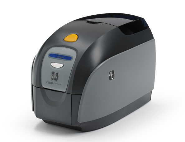 ZXP1 - printer for printing plastic cards, single-sided printing, USB