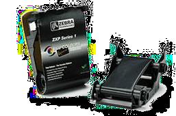 Zebra ZXP1 - černá barva pro potisk 1000 karet